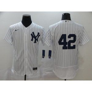 New York Yankees Mariano Rivera White Jersey